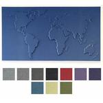 Carte du monde design et acoustique