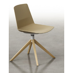 Chaise piétement en bois