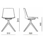 Dimensions chaise en bois