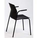 Chaise design accoudoirs ouverts