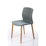 Chaise design pieds bois