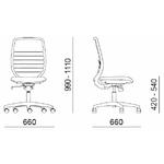 dimensions fauteuil opératif
