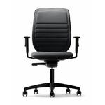 fauteuil-rembourré-noir