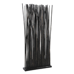 Claustra de séparation 36 bambous bruns