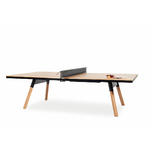 Table de réunion ping-pong Chêne (Taille Standard)