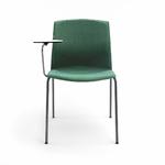 chaise-de-conférence-design-tapissée-avec-tablette-écritoire
