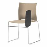 chaise-de-conférence-avec-tablette-beige
