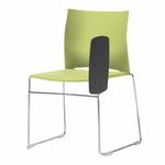 chaise-de-conférence-avec-tablette-vert-clair