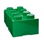 Boite de rangement Lego verte