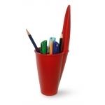 Pot à crayon rouge (bouchon de stylo géant)