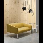 Canapé-2-places-jaune