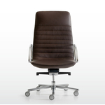 Fauteuil de direction en simili cuir design