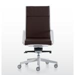 fauteuil de direction design et contemporain en simili cuir