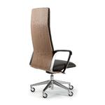 dossier fauteuil de direction design en bois
