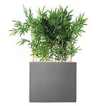 séparateur gris de bambou semi-naturel