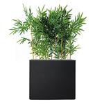 Séparateur noir en bambou semi naturel