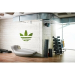 logo sur mesure végétal