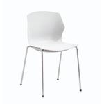 chaise de réunion frill blanche