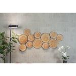 Panneau acoustique mural effet bois