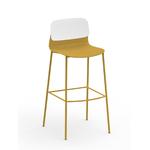 tabouret haut design jaune klik