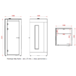 dimensions phonebox A