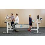 bureau individuel design réglable en hauteur électrique