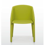 chaise de conférence pliable verte