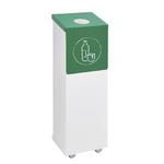 poubelle de tri déchets plastiques