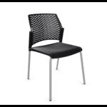 chaise conférence split noir gris