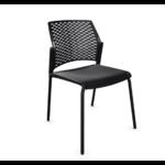 chaise conférence split noir noir