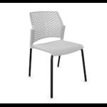 chaise conférence split gris noir