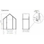 Dimensions-hut-fermée-2-personnes