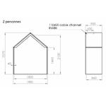 Dimensions-hut-ouverte-2-personnes