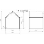 Dimensions-hut-ouverte-4-personnes
