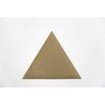 panneau acoustique triangle tapissée