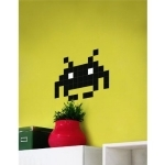 Autocollant mural Classic Invader