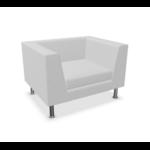 fauteuil lounge blanc