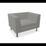 fauteuil lounge gris