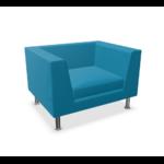 fauteuil lounge bleu