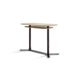 table haute 125x69 cm double plateau