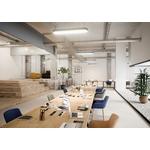 table de conférence cohésion pour espace de coworking