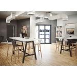 table haute espace informel
