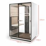 espace-confidentiel-de-travail-hauteur-de-avec-table-réglabe-en-hauteur-