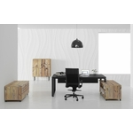 bureau de direction prestige avec meuble de service