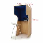 Dimension-cabine-individuelle-Unikube