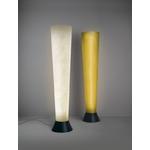 lampadaire elios blanc et or