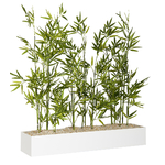 jardinière basse bambous pour bureau