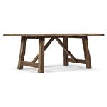 Table design rustique en bois