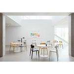 chaise de cafétéria design wing