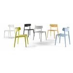 chaise polyvalente colorée wing